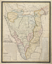 Map of the Carnatic and Mysore drawn by M.  Armstrong, June 1792.